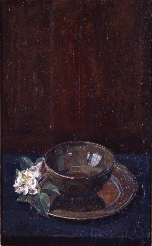 Still Life, Oil on Gesso Panel, 21 x 25 cm
