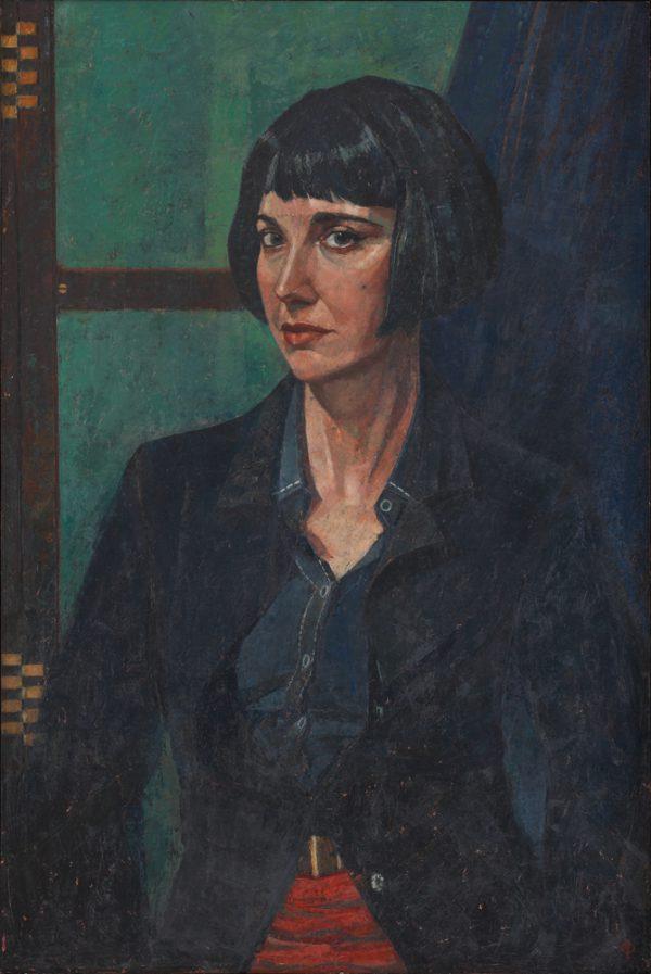 Carlotta, Oil on Gesso Panel, 92 x 61 cm