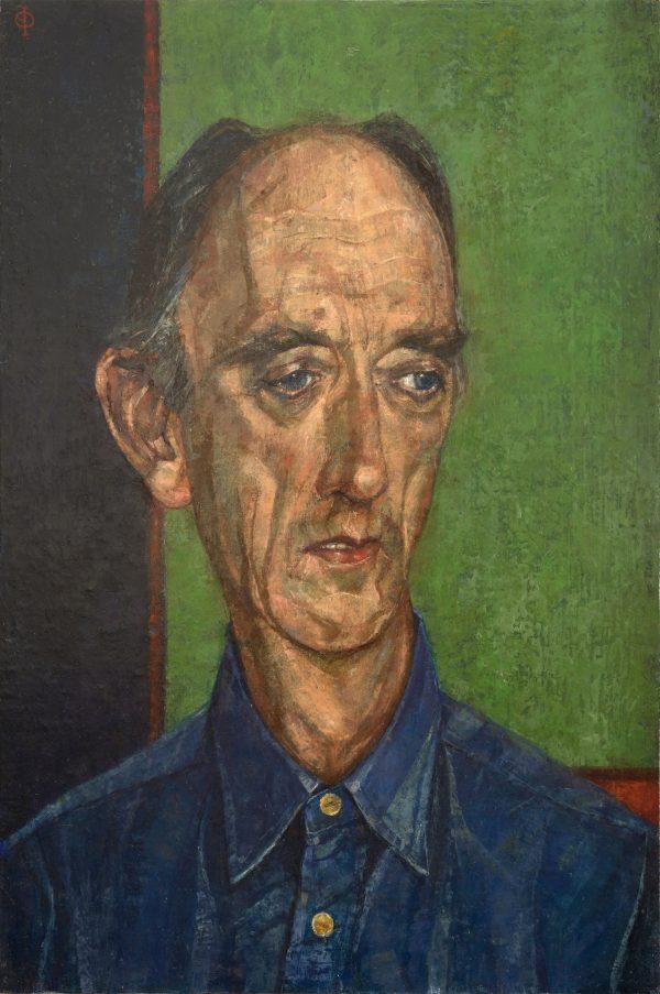 In Memory, Oil on Linen on Panel, 46 x 30 cm
