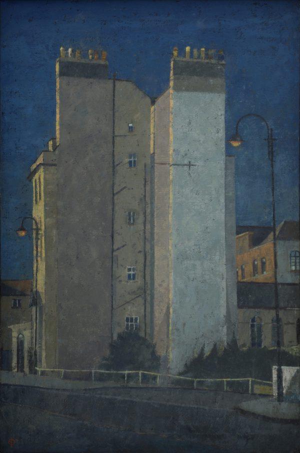 Walcot Street, Oil on Canvas, 91 x 61 cm