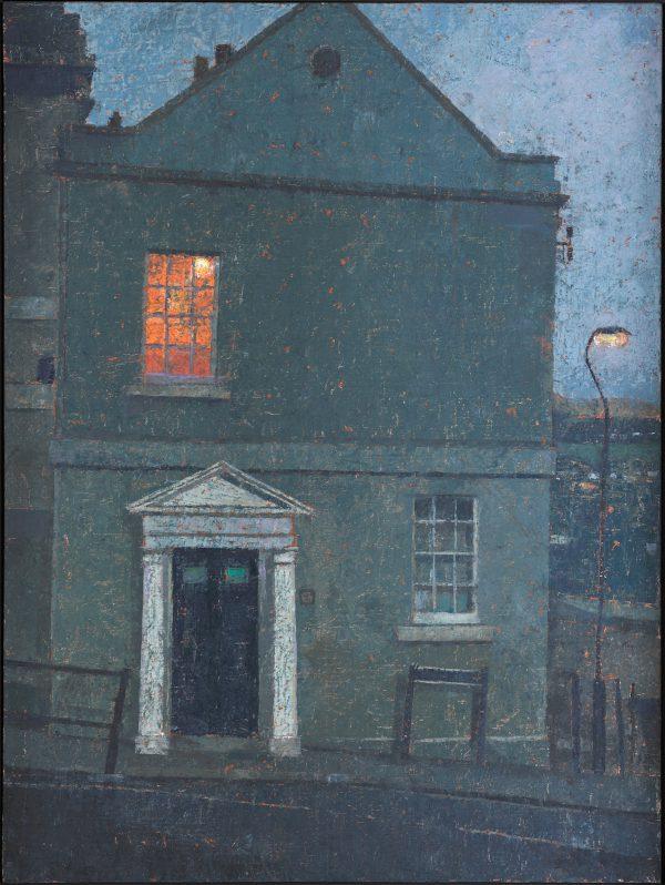 Half Light, Oil on Gesso Panel, 61 x 46 cm