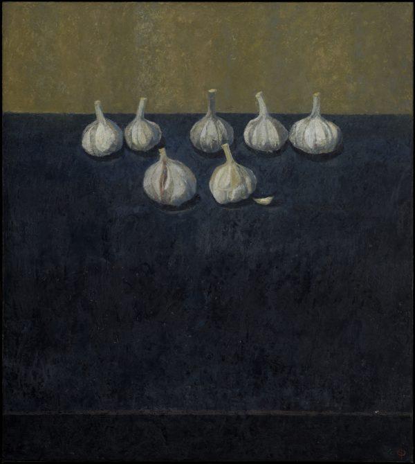 Garlic Parade, Oil on Canvas, 72 x 64 cm