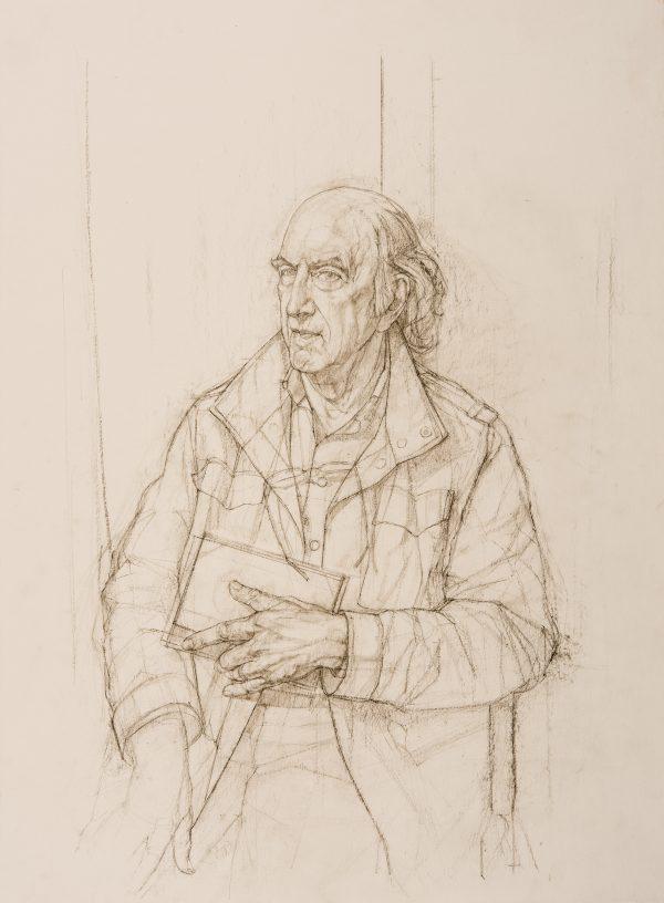 Jonathan, Pencil and Charcoal, 59 x 42 cm