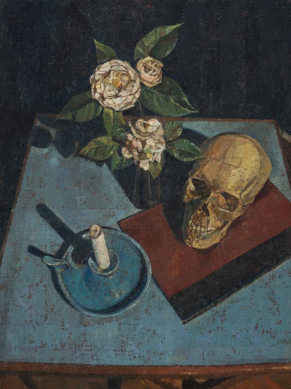 Memento Mori, Oil on Linen on Panel, 61 x 46 cm