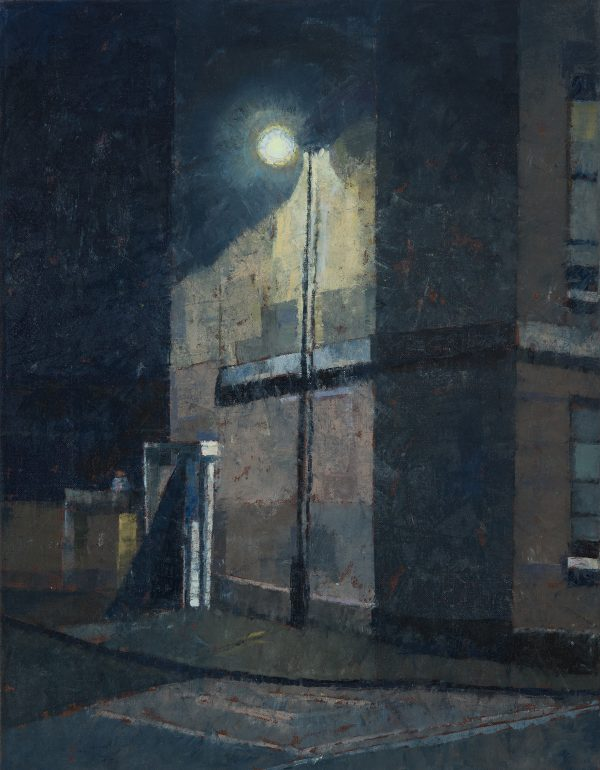 Midnight Hour, Oil on Linen, 45 x 35 cm