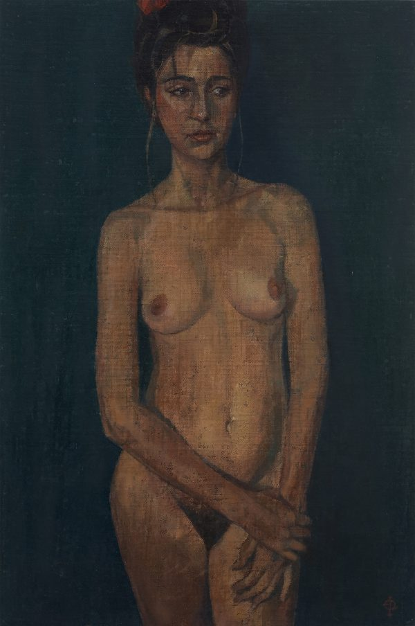 Nude I, Oil on Canvas, 46 x 31 cm