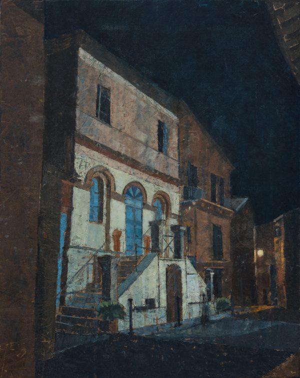 Teatro Della Concordia, Oil on Linen, 51 x 40 cm