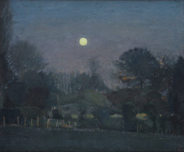 Moonlit Grove, Oil on Canvas, 51 x 61 cm