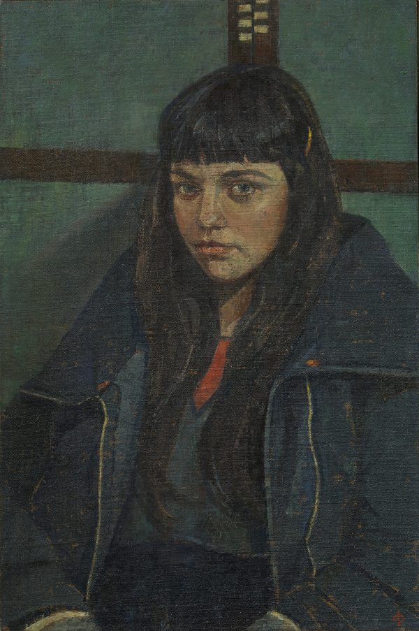 The Frame Maker's Daughter, Oil on Linen on Panel, 46 x 30.5 cm